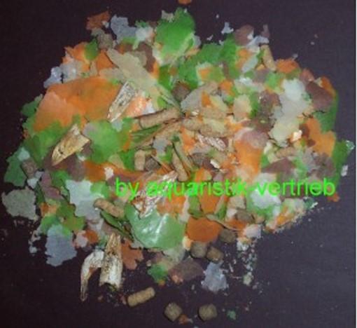 1 l zierfisch flockenfutter fischfutter 1000 ml ebay for Teichfische futter