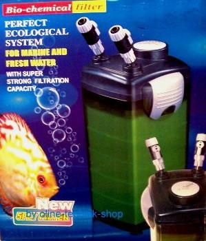 Aquarien-Außenfilter für Aquarien bis 600 Liter geeignet