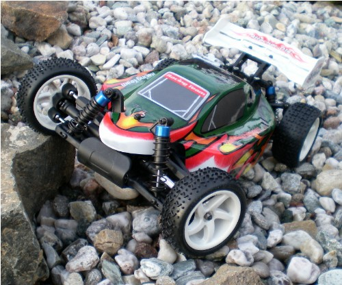 RC Verbrenner Buggy 2.5 ccm Seilzugmotor Starterset RTR