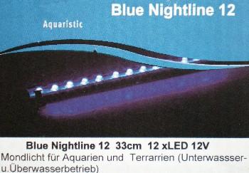 Mondlich Nachtlicht 12 LED 33cm lang Wasserdicht DEKO