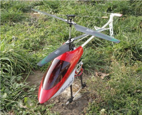 RC Hubschrauber 105 cm lang mit Kreisel Gyro XXL Helli Hellikopt