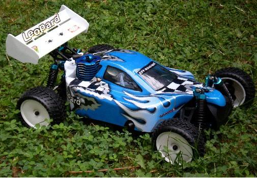 RC Verbrenner Buggy 3.0 ccm allrad 2 Gang Getriebe 70 km/h 1:10
