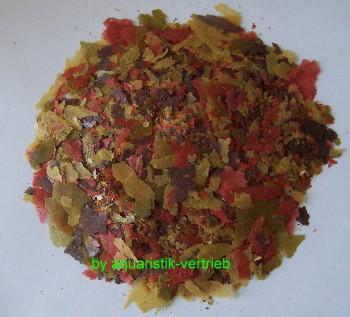 10kg ca. 55 Liter Premium 4 Farb-Hauptflockenfutter