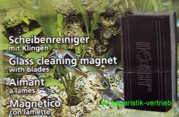 Scheibenreiniger Algenmagnet Klingen Jumbo 8,5 x 3,5 cm