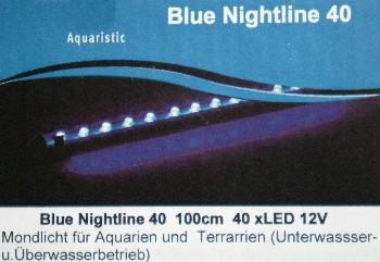 Mondlich Nachtlicht 40 LED 100cm lang Wasserdicht DEKO